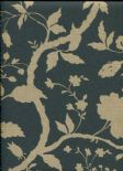 Style Wallpaper Botanical Floral 32-335 By Kelly Hoppen For Graham & Brown
